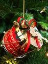 Christmas Drum Stock Photography