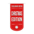 Christmas edition banner design Royalty Free Stock Photo