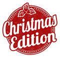 Christmas edition stamp Royalty Free Stock Photo