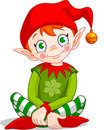 Christmas_elf Royalty Free Stock Photo
