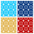 Christmas endless pattern Stock Photo
