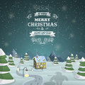 Christmas Eve background vector illustration. Royalty Free Stock Photo