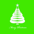 Christmas eve creative new year card Royalty Free Stock Images
