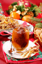 Christmas eve`s sweets Royalty Free Stock Photos