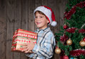 Christmas expectation Royalty Free Stock Images