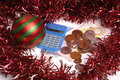 Christmas expense Stock Photography