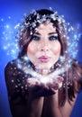 Christmas fairy Royalty Free Stock Photo