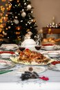 Close up of Thanksgiving Christmas turkey Royalty Free Stock Photo