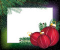 Christmas  festive frame Royalty Free Stock Photos