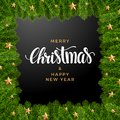 Christmas fir background, realistic look, holiday design