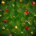 Christmas fir tree texture Stock Images