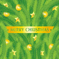 Christmas fir tree texture with Royalty Free Stock Photography