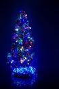 Christmas firtree Stock Image