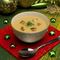 Christmas fish soup Royalty Free Stock Photo