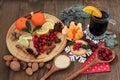 Christmas Food And Wine
