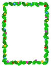 Christmas frame / border Stock Photography