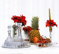 Christmas Fruit Royalty Free Stock Photo