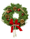 Christmas garland. Royalty Free Stock Photo