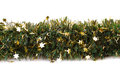 Christmas garland isolated on white background Stock Image