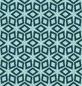 Christmas geometric diamond flower grid seamless pattern. Hand drawn textured vector background. Festive xmas scrap paper, yule