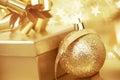 Christmas Gift And Ball