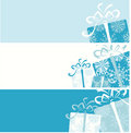 Christmas gift box banners for your design Royalty Free Stock Images