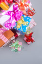 Christmas gift on day family members have exchanged gifts etiquette especially adults give their children gifts but many Royalty Free Stock Photos
