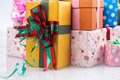 Christmas gift on day family members have exchanged gifts etiquette especially adults give their children gifts but many Royalty Free Stock Photography