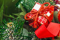 Christmas gift decoration Royalty Free Stock Photo