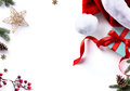 Christmas gift, decorations and holidays sweet Royalty Free Stock Photo