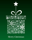 Christmas Gift Greeting Card Royalty Free Stock Photo