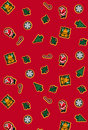 Christmas gift wrap Stock Photo