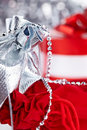 Christmas gifts , macro shoot Royalty Free Stock Photo
