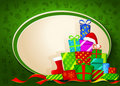 Christmas gifts. Vector illustration Stock Images