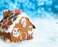 Christmas gingerbread house. Stock Image