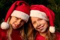 Christmas girls Stock Photos