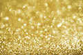 Christmas gold blinking background Royalty Free Stock Images