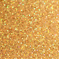 Christmas gold blinking background bokeh Royalty Free Stock Photography
