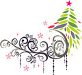 Christmas graphic elements Stock Images