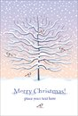 Christmas greeting card Royalty Free Stock Photo
