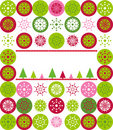 Christmas greeting card cover Stock Photo
