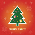 Christmas greeting card for everyone Royalty Free Stock Photography