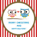 Christmas greeting card for everyone Royalty Free Stock Photos