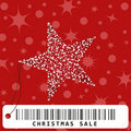 Christmas greeting card illustration Royalty Free Stock Photography