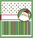 Christmas greeting card, template Royalty Free Stock Photography