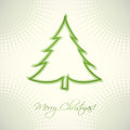 Christmas greeting card vector illustration Royalty Free Stock Photography