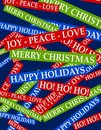 Christmas Greetings Background Stock Photos