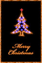 Christmas greetings card Royalty Free Stock Photo