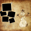 Christmas grunge background Royalty Free Stock Photo