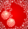 Christmas grunge background. Vector illustration Stock Image
